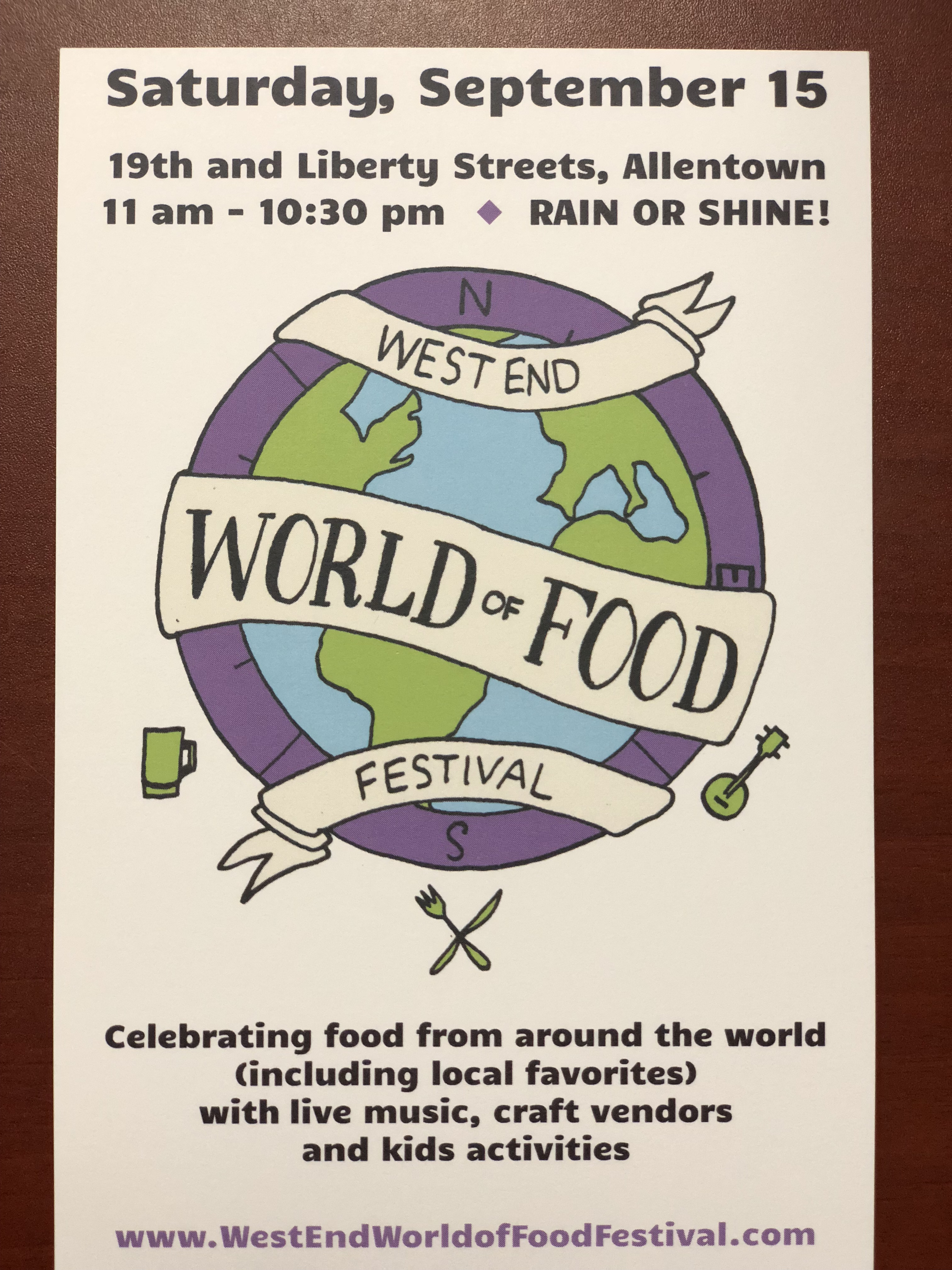 West End World of Food Festival